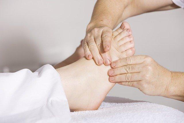 voetreflexologie bij Massage Rainbow Dordrecht